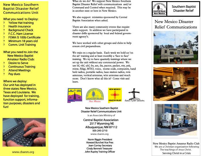 Page 1 of NM Baptist Radio Club
