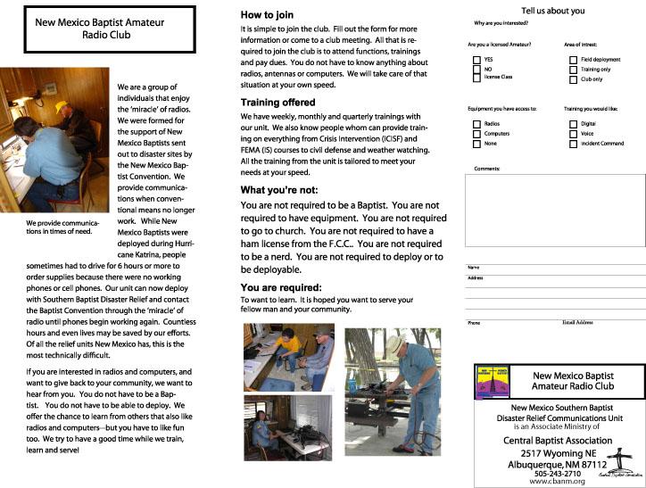 Page 2 of NM Baptist Radio Club